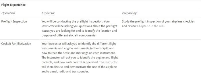 FlightExperience