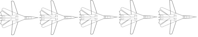5 F-111s