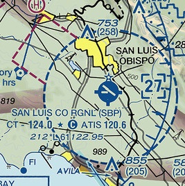 Class D Airspace with Class E Transition